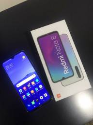 Xiaomi redmi note 8 branco 64gb zerado