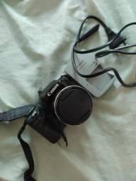 Câmera semi profissional Canon sx510 - aceito cartão