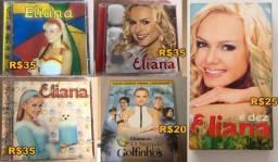 CDs, VHS e DVD Infantis - Eliana e Angélica
