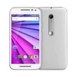 Moto G3 Motorola XT1540 16GB Dual TV Branco Seminovo - Excelente