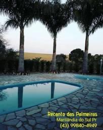 Chácara para Festas - Recanto das Palmeiras