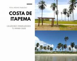 Costa de Itapema - Lotes em condomínio fechado próximo a Saubara. TG54R