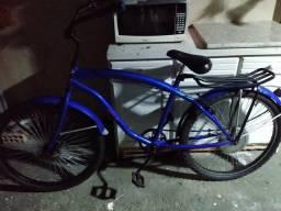 Vendo Bicicleta Nova da Cor Azul colocar motor