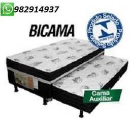 Oferta Exclusiva De Cama Box Com Auxiliar Nova Embalada Apenas 790,00