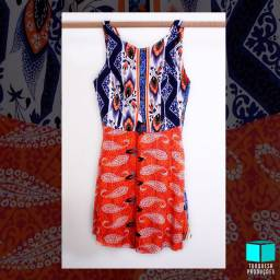 Vestido estampado DRESS To. Lindoo!!