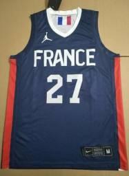 Camisa de Basquete Jordan França 2020
