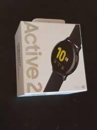 Galaxy Watch Active 2 - lacrado, novo, nota, garantia