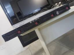 Servidor HP Proliant DL 160 G6 com 4gb ram e 12 tera de HD