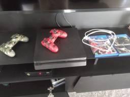 PS4 Slim em ótimo estado