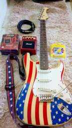 Vendo ou troco -Guitarra Stratocaster