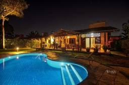 Casa com piscina e jardim amplo no Complexo Pipa Natureza