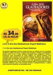 LIVRO A ERA DOS GLADIADORES| RUPERT MATTHEWS