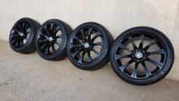 R$ 3.490 Rodas BMW M3 Aro 18 com pneus semi novos