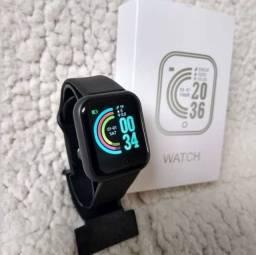 Relógio  smartwatch D20 Bluetooth Android e IOS Preto Entrega Gratis pelos correios