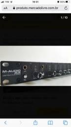 Placa M-audio 2626