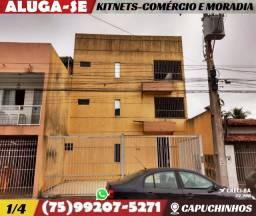 KitNets 1/4-E Salas Comerciais-Excelente Localização-Bairro Capuchinhos-Feira de Santana
