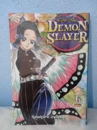 Mangá Demon Slayer Vol. 6 (lacrado)