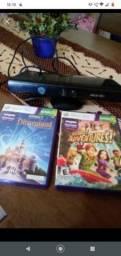 Kinect e dois jogos