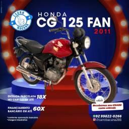 Título do anúncio: CG Fan 125 2011/2011
