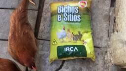 Ração pra aves e coelho irca 20kg