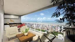 Apartamento com 3 dormitórios à venda, 113 m² por R$ 760.000 - Miramar - João Pessoa/PB