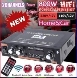 rádio FM G30 HiFi Bluetooth Suporte SD / USB / DVD / MP3 com controle remoto<br><br>