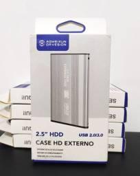 Case HD Externo 2.5 Sata USB 2.0