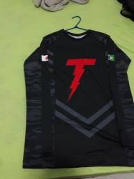 Rashguard / camisa de compressão ROTAM Jiu Jitsu