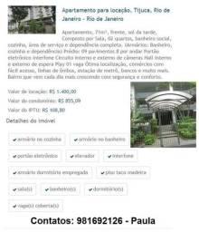 Aluguel  de apart Tijuca Rj