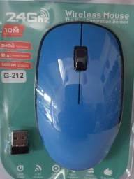 Título do anúncio: mouse sem fio (( 1600 dpi )) sensor 2.4 GHz .....oferta