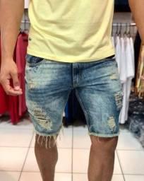 Bermuda short jeans masculino no atacado do 36 ao 54