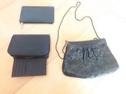 Título do anúncio: 1 bolsa de festa, 1 carteira simples, 1 carteira múltipla