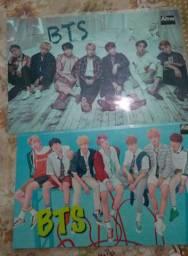 Posters BTS emplastificados