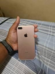 Iphone 7plus rose 128gigas disponível