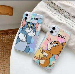 Capinha de Tom e Jerry para iPhone