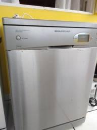 Lava louças Brastemp inox
