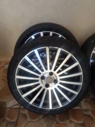 Título do anúncio: rodas com pneu