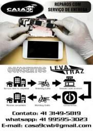 Consertos Celulares, Notebook, Tablets e Games