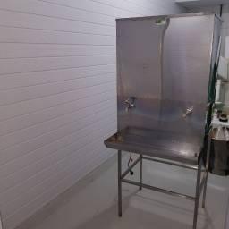 Bebedouro industrial 50 litros - Aço Inox