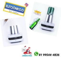 Título do anúncio: Copo Resfriador De Bebidas Elétrico Lata Garrafa Bivolt só zap