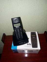 TELEFONE SEM FIO DIGITAL COM BASE E IDENTIFICAÇÃO DE CHAMADAS INTELBRAS - R$: 129,99