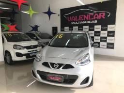 Nissan March 1.0 Manual 2016 IPVA 2021 Grátis e Primeira Parcela Para 90 Dias