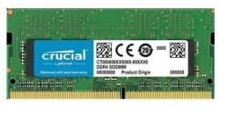 Memória RAM Notebook 8GB Ddr4 Crucial