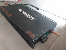 Modulo De Potencia Booster Power-one Ba-4510 Roadstar 2400w + Caixa de som