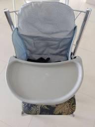 Cadeirinha/mesa portátil bebê