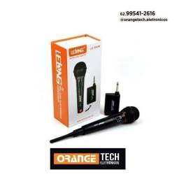 Título do anúncio: Microfone Sem Fio Profissional Lelong Le-996w Profissional- pronta entrega