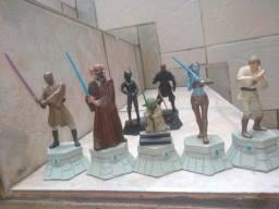 Peças de xadrez da coleção star wars ( ver descrição)