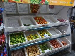 Banca de legumes e frutas