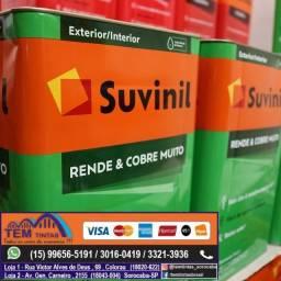 Tinta Suvinil Rende Muito , rendimento de até 350 m2 /500m2