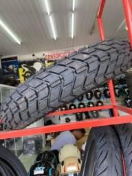 Pneu traseiro para motos Xre300 lander tenere technic 120/80-18 entrega todo Rio
